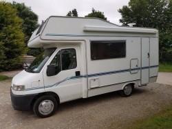 2000 Peugeot wayfarer/swift motorhome 5 berth ready to go