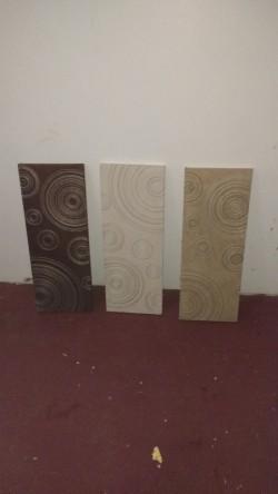 3 Canvas wall frames