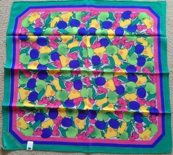 New Genuine 100% Italian Silk Ungaro Scarf