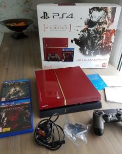 Sony PlayStation 4 500gb Red Whatsapp : +234 8125173327