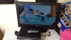 "36"" SONY BRAVIA HDMI DIGITAL TV FOR SALE AND HD SKYBOX WITH Sky Remote"