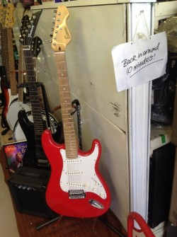 new Lead electric guitar display model last one!