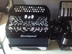 Brand new 3 row continental chromatic accordion