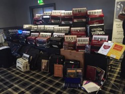 Piano accordions over 50 models new and used
