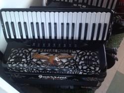 Guerrini Polka King Piano accordion full decoration