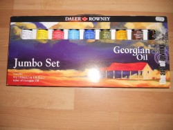 Daler Rowney Oil Paint, new