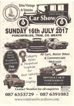 Trim Classic Car Show