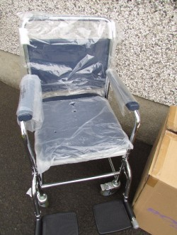 Two New Commodes Wheelchair Style