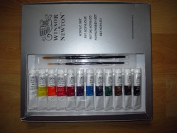 Acrylic paint Box set