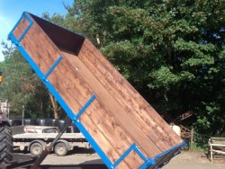 Tractor Tipping Trailer