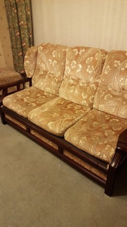 3 seat sofa and 1 chair