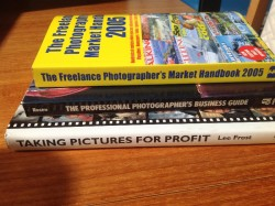 Books about making photography pay