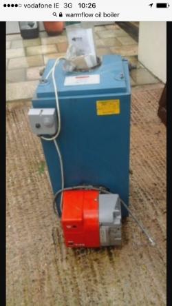 Warmflow oil boiler 50/70