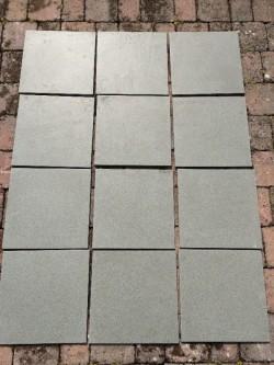 Reclaimed porcelain Italian floor tiles