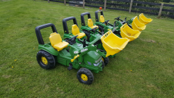John deere tractors with trailers