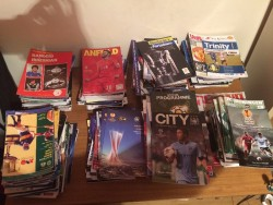 Over 250 Football & Gaa programmes