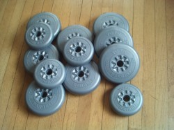 12 York Dumbell - Barbell weights