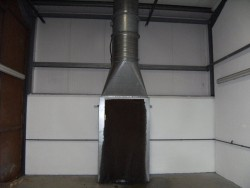 Spray Booth Fan for sale