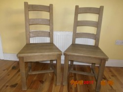 Rustic Pine, Solid  Wood,  Dining/Kitchen Chairs