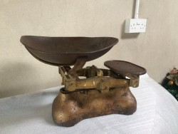 W&T Avery weighing scales.