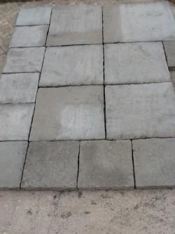 Garden paving flagstones