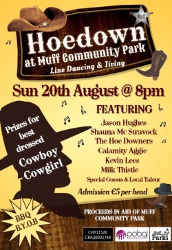 Hoedown at Muff Community Park !