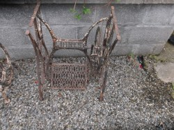 cast iron sowing machine table