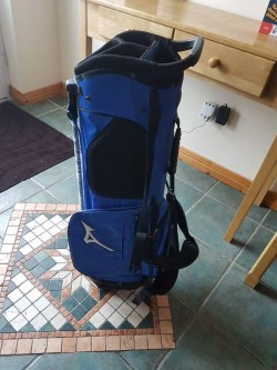 2 Brand New Mizuno Elite Golf Bags with Stand