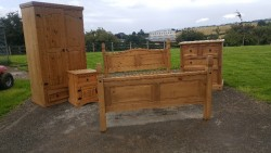 Mexican pine bedroom furniture