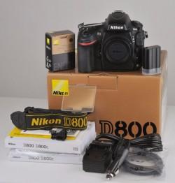 Nikon D800 lens and accessories, wireless shutter release, external flash