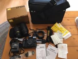 Nikon D7100 Digital SLR Camera - Black Kit