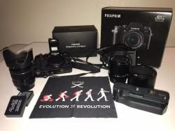 Fujifilm X-T1 Mirrorless Digital Camera 18-55 kit Lens, XF 60mm F2.4