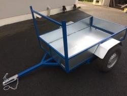 Car/quad trailer galvanised