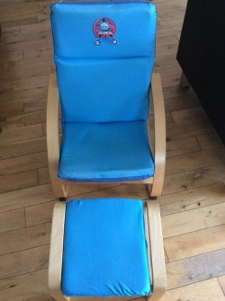 Thomas the Tank Engine Chair & Footstool