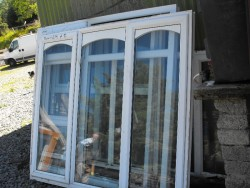 PVC Second Hand Windows for Sale