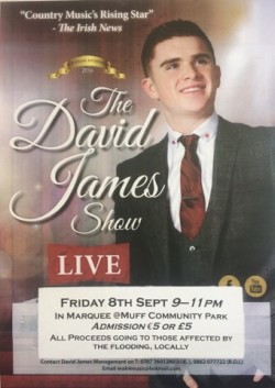 David James LIVE Fundraiser