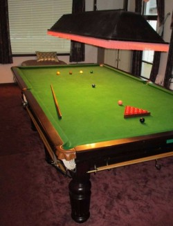 Large snooker table for sale