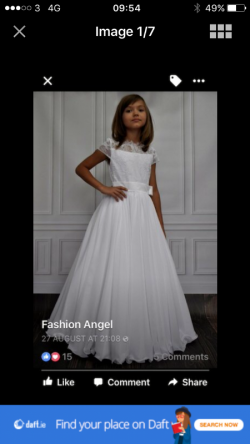 For Sale - Holy Communion dress