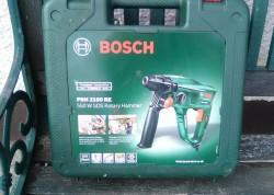 Bosch hammer reversible drill.