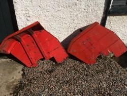 Original Massey Ferguson rear mudguards