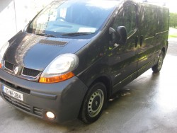 renault trafic 1.9dci 100. full years test just done, 2003