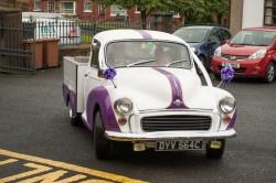 Classic Morris Minor Pickup