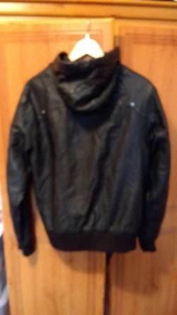 Unisex washable biker jacket