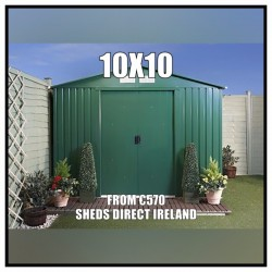 10ft *10ft Metal Shed