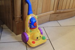 Toy hoover by Fisher Price