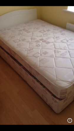 Like new double bed