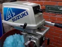 suzuki 4hp 2-stroke running 100%