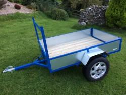 New car quad trailer