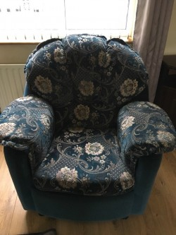 Three Seater Sofa and One Chair