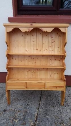 Pine Wall Hanging Dresser